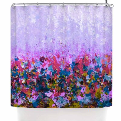 Ebi Emporium Natures Living Room Shower Curtain Color: Purple