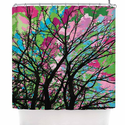 Empire Ruhl Tree of Spring 2 Nature Shower Curtain