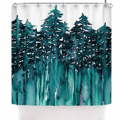 Ebi Emporium Forest Through the Trees 5 Shower Curtain