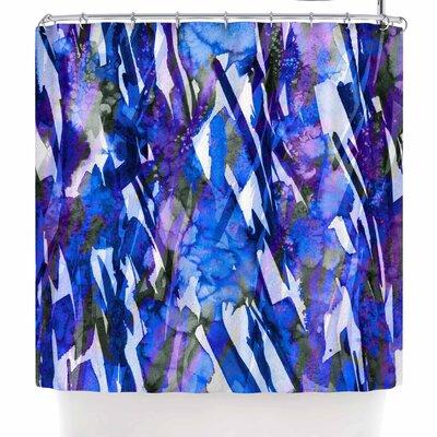 Ebi Emporium Frosty Bouquet 3 Shower Curtain