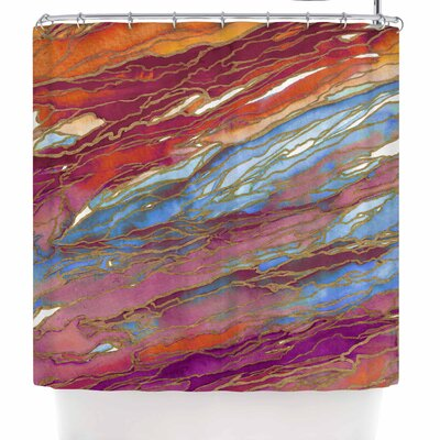 Ebi Emporium Agate Magic Autumn Dust Shower Curtain