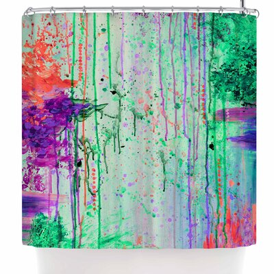 Ebi Emporium the 90s Throwback Shower Curtain
