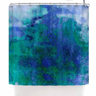 Ebi Emporium Epoch 2 Shower Curtain Color: Blue/Teal
