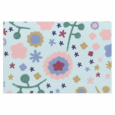 Alik Arzoumanian Morning Flowers Doormat