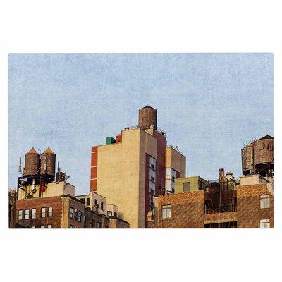 Ann Barnes Vintage NYC Cityscape Doormat