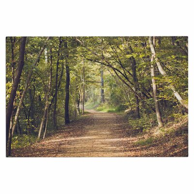 Ann Barnes Forest Light Nature Photography Trees Doormat