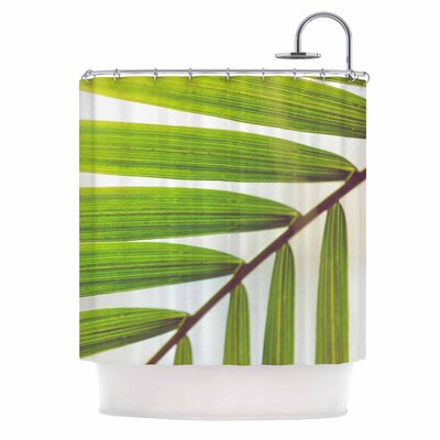 Ann Barnes Jungle Abstract Shower Curtain
