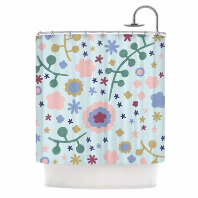 Alik Arzoumanian Morning Flower Shower Curtain