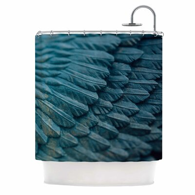 Ann Barnes Ombre Angel Celestial Shower Curtain