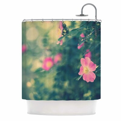Ann Barnes Central Park Roses Nature Shower Curtain