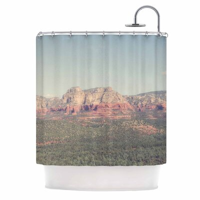 Ann Barnes Sedona Skies Photography Shower Curtain