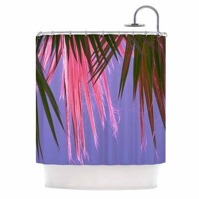 Ann Barnes Neon Jungle Shower Curtain