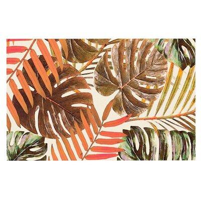 Alison Coxon Jungle Doormat Color: Orange/Brown