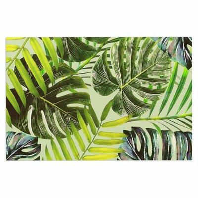 Alison Coxon Jungle Doormat Color: Green/Yellow