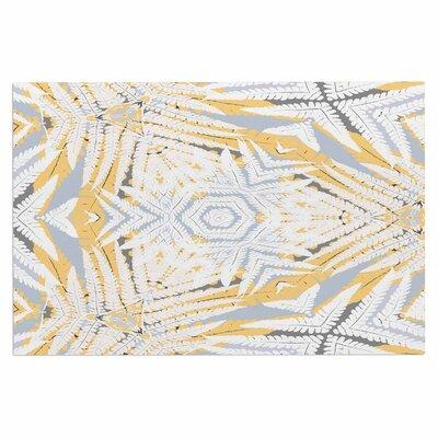 Alison Coxon Planthouse Saffron Doormat Color: Yellow/Gray/Saffron