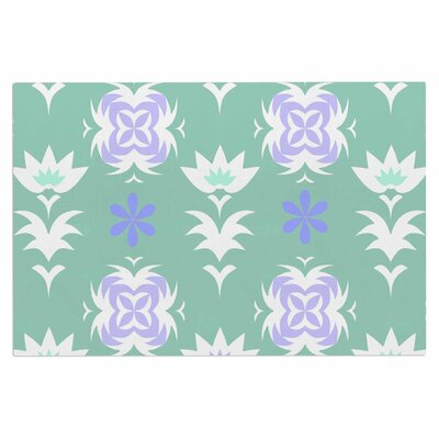Alison Coxon Edwardian Tile Doormat Color: Blue/White