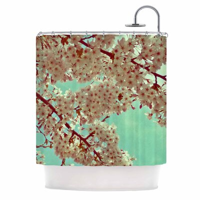 Alison Coxon April Floral Shower Curtain