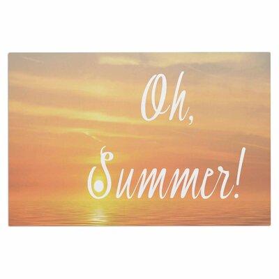 Alison Coxon Oh, Summer Coastal Doormat