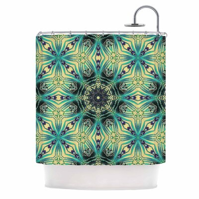Alison Coxon Paradise Digital Shower Curtain