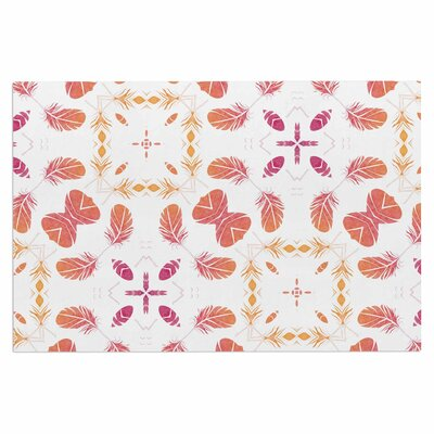 Alison Coxon Aztec Feather Repeat Digital Doormat
