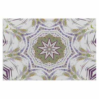 Alison Coxon Boho Dream Doormat Color: Olive/Purple/Green