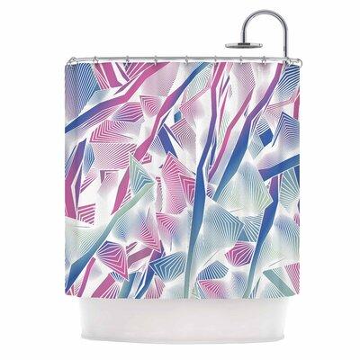 Angelo Cerantola Jungle Lines Digital Shower Curtain