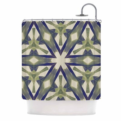 Angelo Cerantola Lymph Geometric Modern Shower Curtain