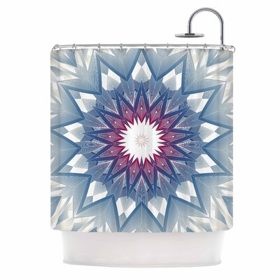 Angelo Cerantola Starburst Digital Shower Curtain