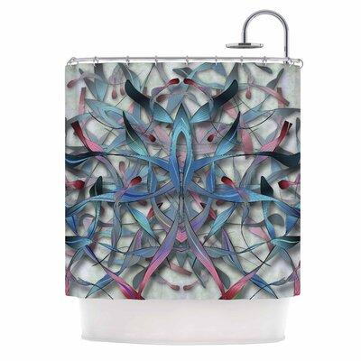 Angelo Cerantola Wax and Wayne Digital Shower Curtain