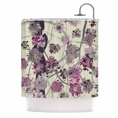 Angelo Cerantola Springtime Again Floral Shower Curtain