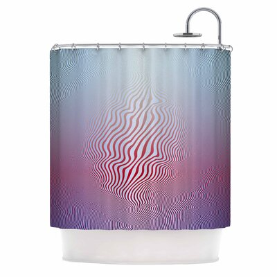 Angelo Cerantola Ghost Digital Shower Curtain