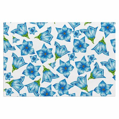 Alisa Drukman Flowers Floral Doormat