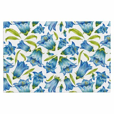 Alisa Drukman Campanula Floral Doormat