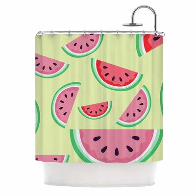 Afe Images Watermelon Background Food Shower Curtain