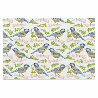 Alisa Drukman Bird Tit Doormat