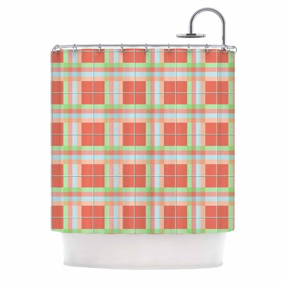 Afe Images Summer Plaid Shower Curtain
