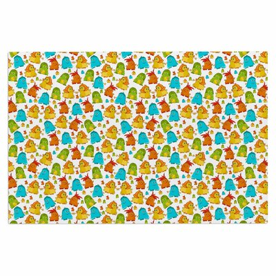 Alisa Drukman Good Monsters Kids Doormat