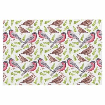 Alisa Drukman Sparrow and Bullfinch Doormat