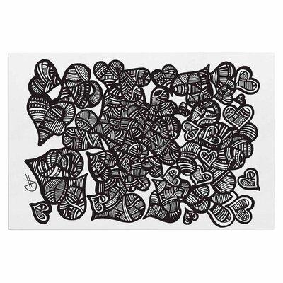 Adriana De Leon Hidden Hearts Doormat
