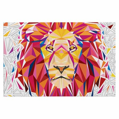 Ancello Rainbow Lion Digital Doormat