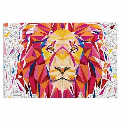 Ancello Rainbow Lion Digital Doormat