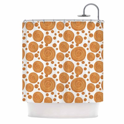Alisa Drukman Geometric Shower Curtain