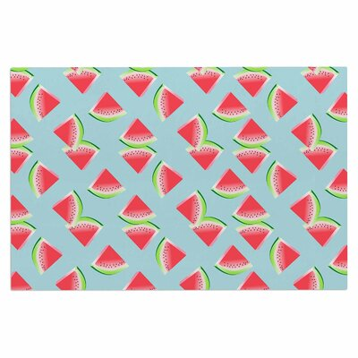 Afe Images Watermelon Slices Illustration Doormat