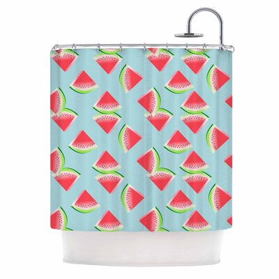 Afe Images Watermelon Slices Illustration Shower Curtain