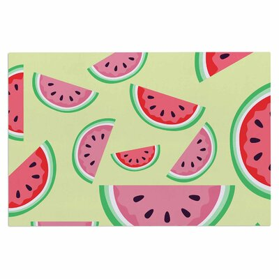 Afe Images Watermelon Background Food Doormat