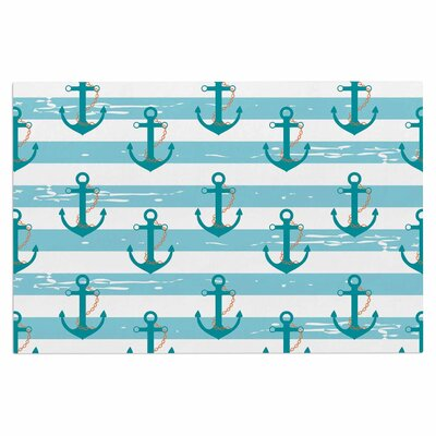 Afe Images Nautical Anchor Illustration Doormat