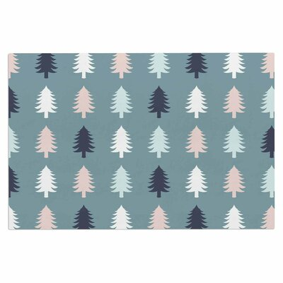 Afe Images Christmas Tree Silhouettes Digital Doormat