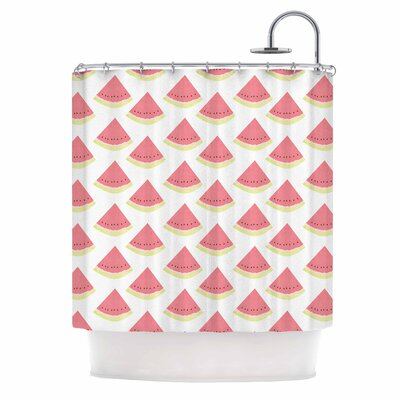 Afe Images Watermelon 2 Illustration Shower Curtain
