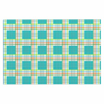 Afe Images Modern Plaid Illustration Doormat