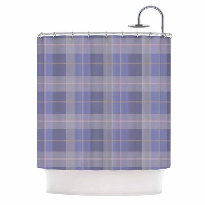 Afe Images Plaid Illustration Shower Curtain